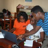 ICT training for girls in rural area in Yaounde, Cameroon