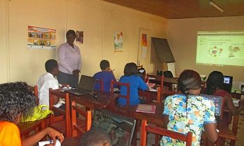 Training reporting: ICT training for girls in rural area in Yaounde, Cameroon
