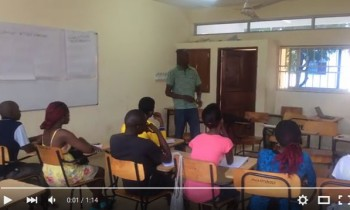 Our Introductory Meeting with Students in Kenya