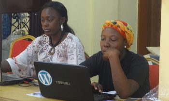 Training documentation: Documentation of the ongoing trainings