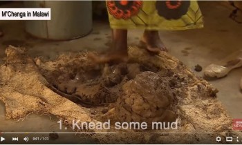 How to charge your phone with a mud oven