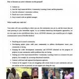 Volunteers' Guide – KFDWB