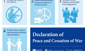 Declaration of Peace and Cessation of war